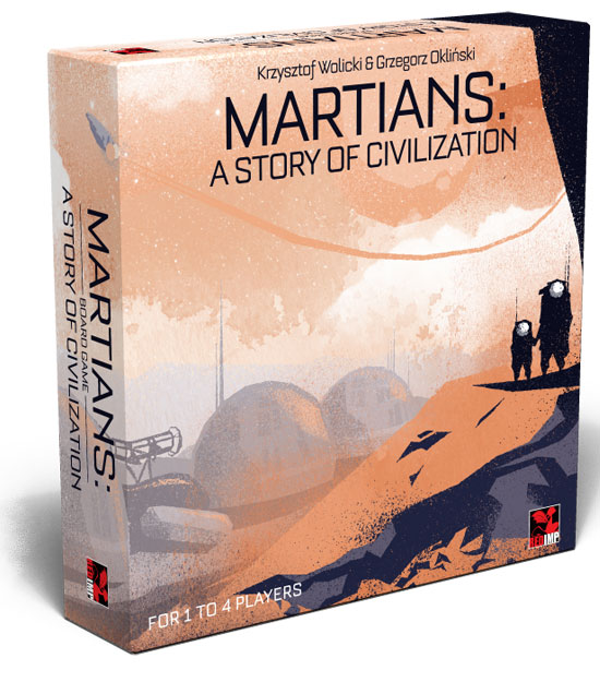 Martians: A Story of Civilization - English retailer edition